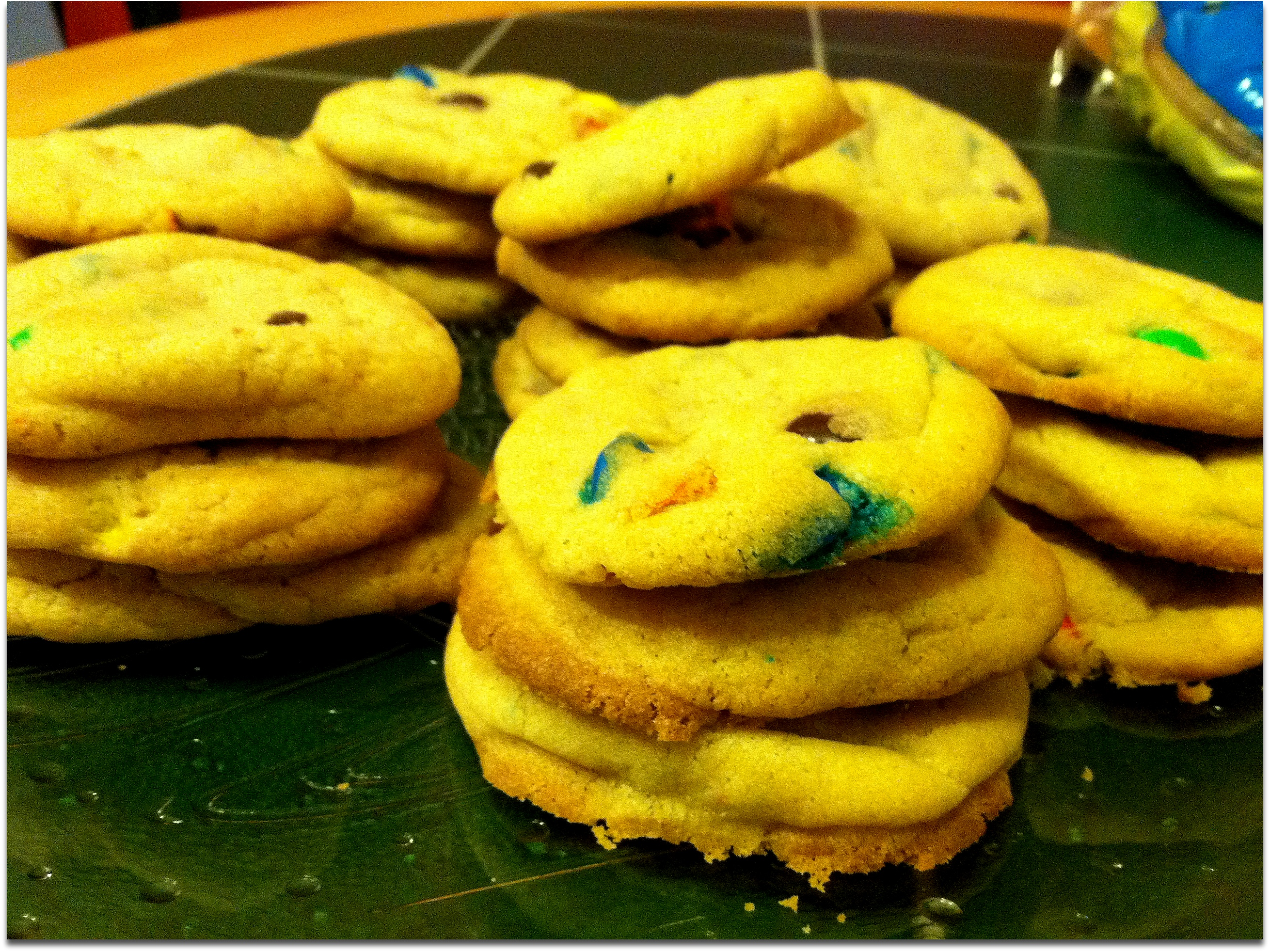 ChChip Cookies with MMs