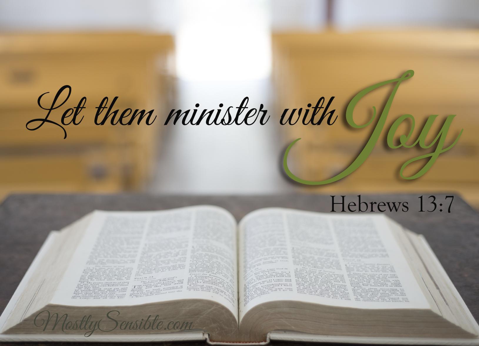 Hebrews 13.7