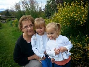 Grandma & Nataly & Sara