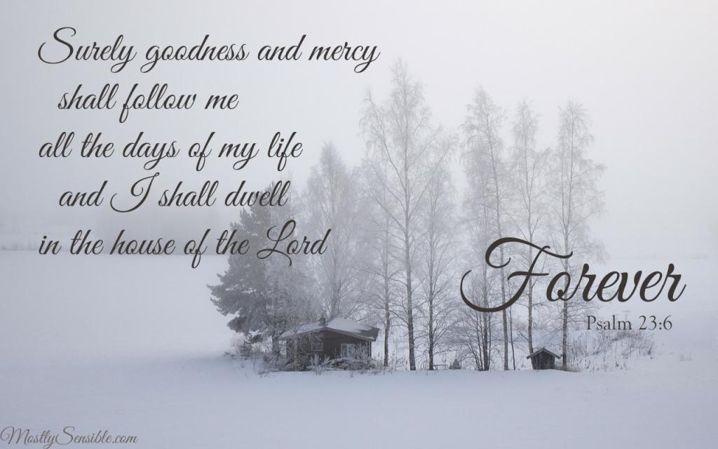Psalm 23.6