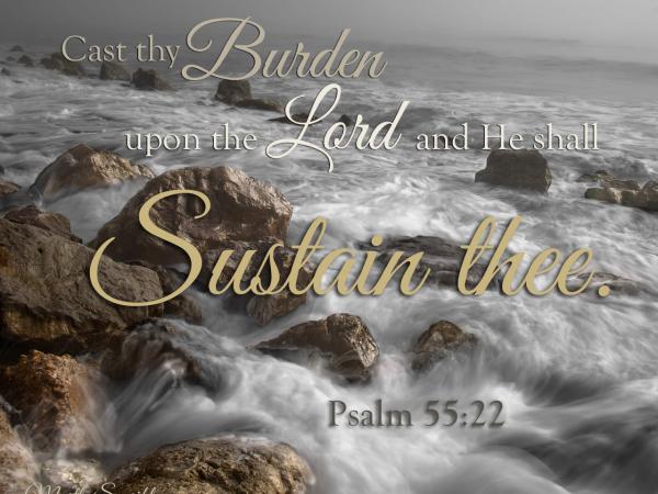 Psalm 55.22