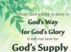 Hudson Taylor - Gods Supply