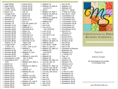 MS Bible Reading Schedule Pic