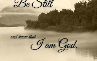Be Still Ps. 46.10