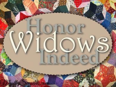 Honor Widows Indeed